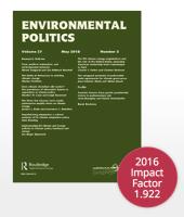 SPONSOR: Environmental Politics